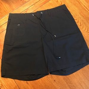 Ralph Lauren Black Drawstring Shorts
